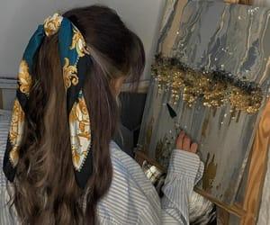aesthetic, art, and bandana image