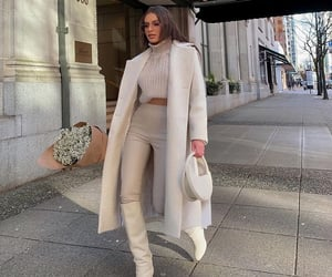 beige, blogger, and casual image
