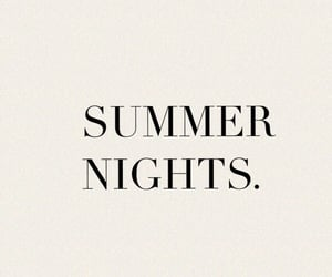 summer, quotes, and night image