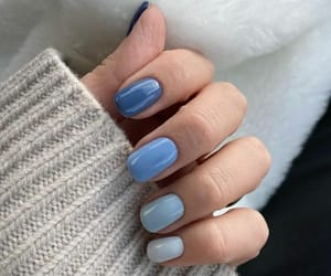 blue, inspiration, and nails image