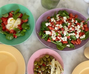 cheese, delicious, and feta cheese image
