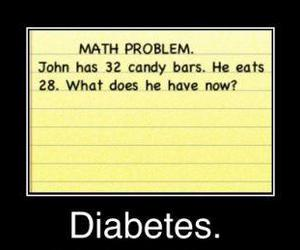 diabetes and maths image
