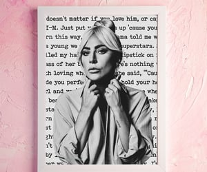 art print, little monsters, and Lady gaga image