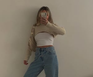 fashion, outfit, and goals ootd image