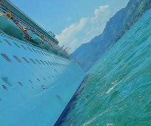 agua, cruise, and viaje image