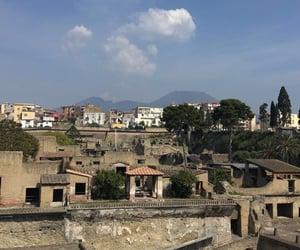 italia, travel, and vesuvio image
