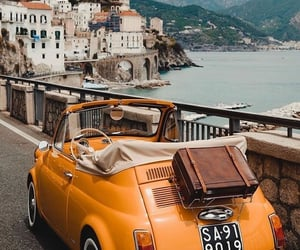 car, travel, and italy image