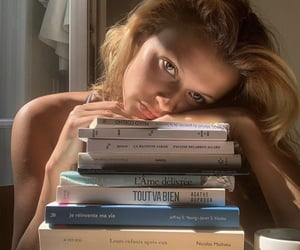 book, goals, and books image