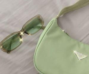 Prada, green, and aesthetic image
