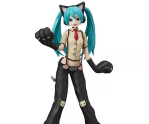 cat, catgirl, and Figure image