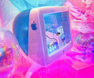 apple, fish tank, and pink image