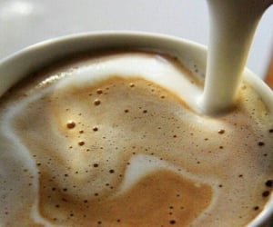 coffee, drink, and cream image
