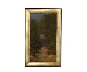scenic art, tree art, and woodland painting image