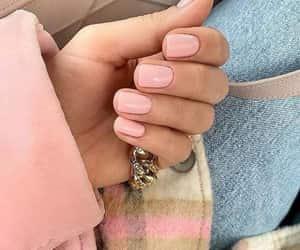 nail art, ring sets, and neutral nail image
