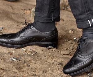 brogues, brogue shoes, and men's dress boots image