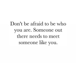 afraid, quotes, and text image