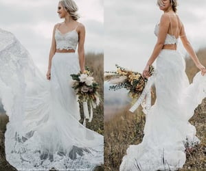 wedding dresses, bridal gowns, and weddings image