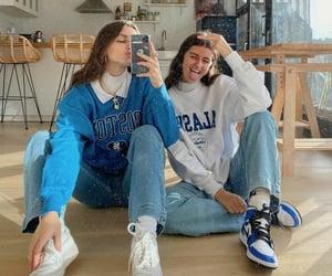 crazy, denim, and fashion image