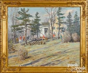 Pook & Pook's Americana & International Sale Features 20th-Century Paintings and Decorative Art   Auction Daily