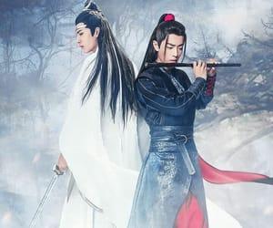 the untamed, lan wangji, and wang yibo image