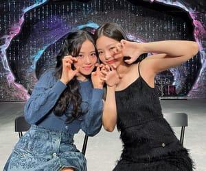 kpop, jennie kim, and kim jisoo image