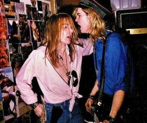 80s, axl rose, and duff mckagan image