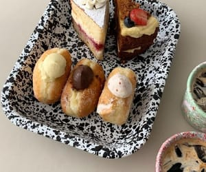 bakery, beige, and food image