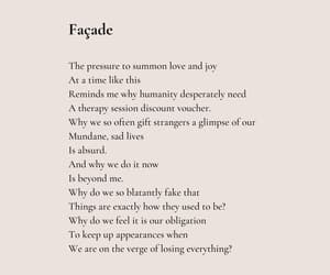 facade, love, and poem image