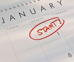 article, newyear, and motivation image