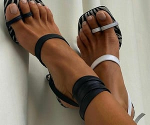 b&w, shoes, and fashion image