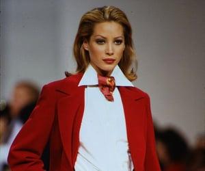90s, Christy Turlington, and Super Model image