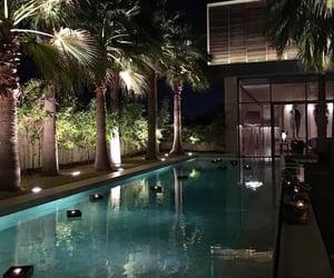 pool, luxury, and goals image