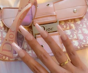 nails, accessories, and dior image