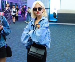 style, (g)i-dle, and airport fashion image