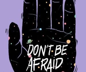 afraid, arte, and background image