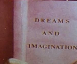 Dream, imagination, and book image