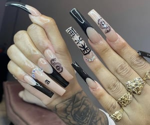 nails, style, and girl image