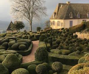 dordogne, chateau de marqueyssac, and department of france. image