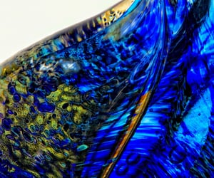 art glass, hot art, and art glass vessel image