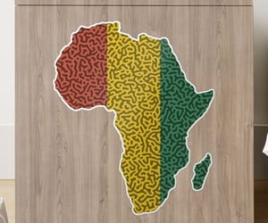 africa, sticker, and African image