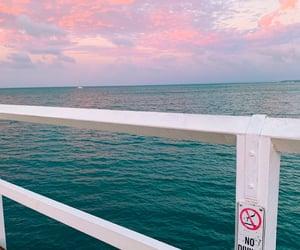 amazing, deep blue, and beach image