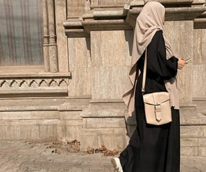 aesthetic, chic, and hijab image