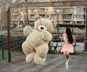 bear, fun, and park image