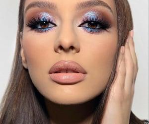 blue, brilho, and glitter image