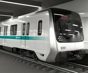 metro, harbin, and underground image