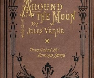 book, jules verne, and old image