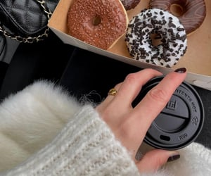 coffee and donut image