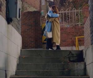 caps, couple, and hug image