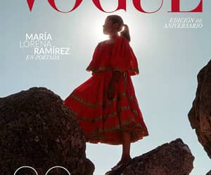 vogue, vogue mexico, and red image