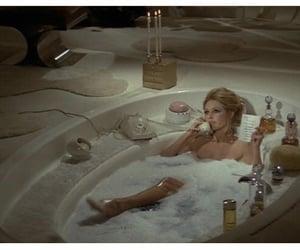 bathing, perfumes, and bathtub image